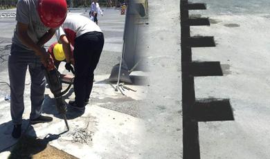 免排水款升降柱的施工方案,底部无需做排水系统